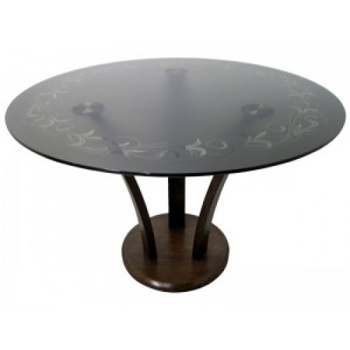 Стол стеклянный обеденный SS-П27