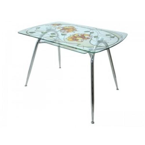 Стол стеклянный обеденный SS-AR120