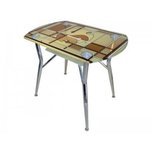 Стол стеклянный обеденный SS-K106