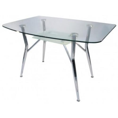 Стол стеклянный обеденный SS-Д1