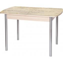 Стеклянный обеденный стол с фотопечатью М142.94