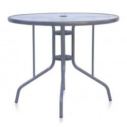 Стол стеклянный для кафе AF-d90 круглый