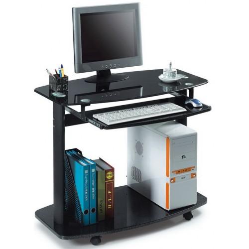 Компьютерный стол для ноутбука стеклянный ССК-4