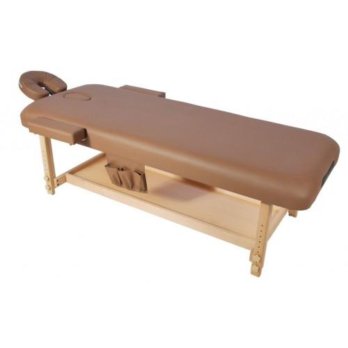 Стол массажный деревянный ММ-МТ2 стационарный