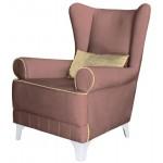 Английское кресло для кабинета Каролина