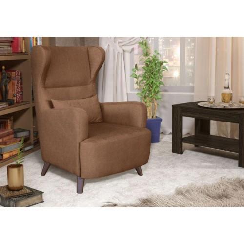 Каминное кресло с ушами МЕЛАНЖ