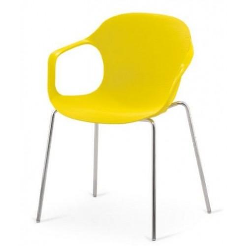Кресло пластиковое для кафе AF-078Р с подлокотниками