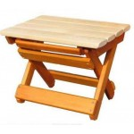 Табурет-скамья складная деревянная М91.12