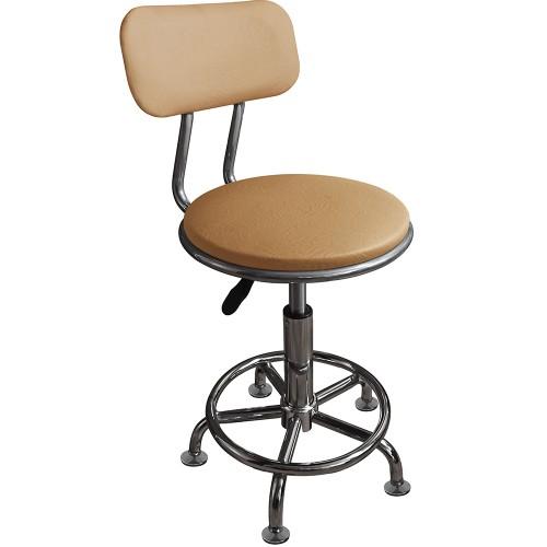 Кресло лабораторное М106-02 регулируемое на стационарных опорах