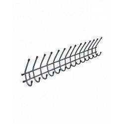 Вешалка гардеробная СС-В2.01.05 настенная на 14 крючков