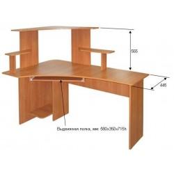 Компьютерные столы и тумбы подкатные для дома и офиса