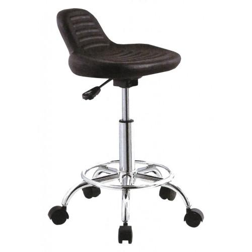 Табурет-стул ММ-6КР полиуретановый с опорой для ног