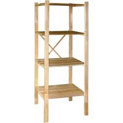 Стеллаж-этажерка М191.60 деревянная