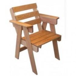Кресло деревянное Н117.5